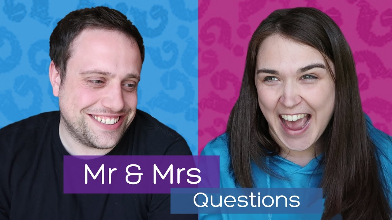Mr And Mrs Paddle Questions Funny