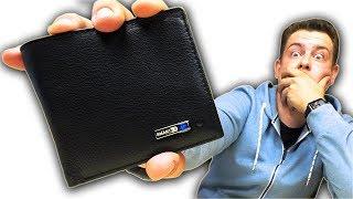 Этот кошелек умнее тебя! Смарт кошелек с Алиэкспресс. - Видео от РасПаковка ДваПаковка