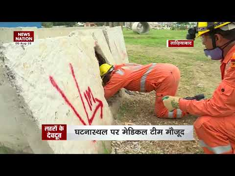 National Disaster Response Force (NDRF) rescue life in North India