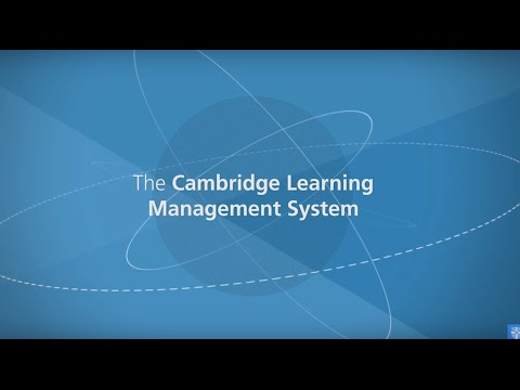 The Cambridge Learning Management System
