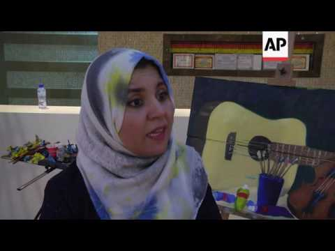 Libyan culture gets a boost through arts show