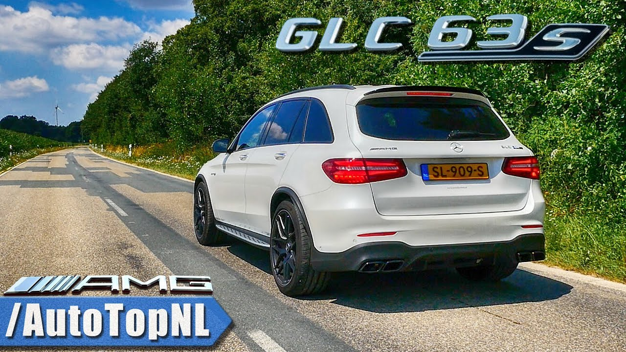 Mercedes AMG GLC 63 S 4 0 V8 BiTurbo | AUTOBAHN Exhaust SOUND & REVS |  DRIFT & TUNNEL by AutoTopNL