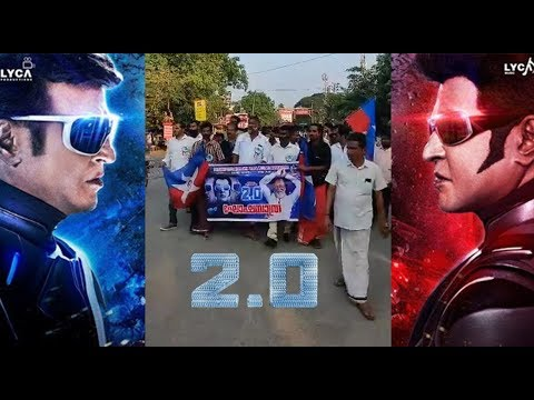 Kerala Superstar Rajinikanth Fans celebration at Rajini 2.O movie Release |STV
