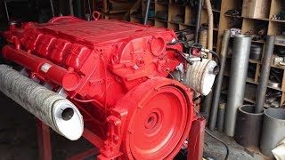 Réparation de moteur diesel DEUTZ