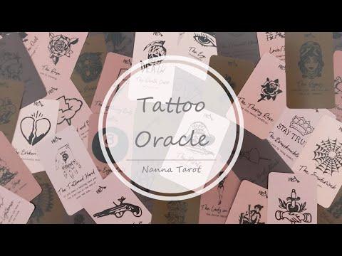 開箱  紋身神諭卡 • Tattoo Oracle // Nanna Tarot