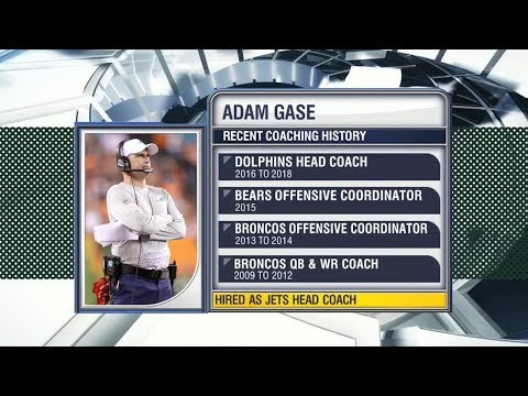 Reacting to Jets' hire of Adam Gase as head coach