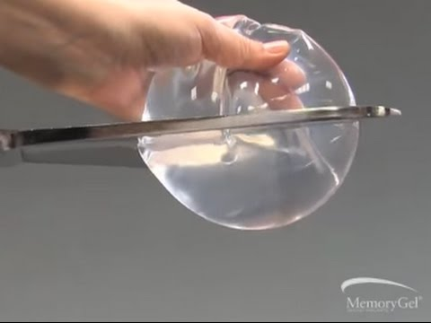 35c397dda3 Silicone MemoryGel Cohesive Breast Implants Video - YouTube