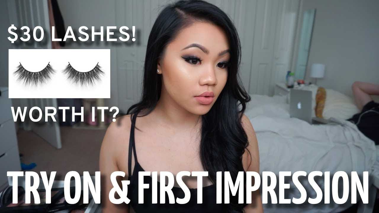 be7be9167d0 Lilly Lashes in Miami | Try On & First Impression Asian Eyes w/ Potential  Dupes!