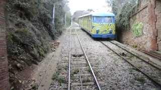 Funicular railway @Tibidabo [Barcelona, Catalonia, Spain]