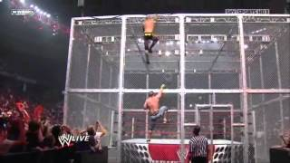 John Cena vs Randy Orton in steel cage match full in HD