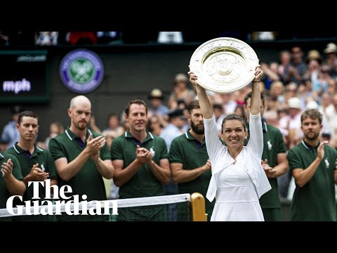 Serena Williams pays tribute to 'little powerhouse' Halep after final defeat