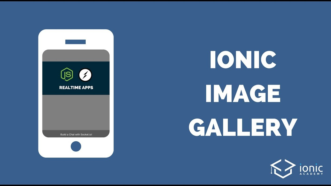 Building an Ionic Image Gallery
