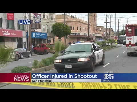 Police Officer, 2 Others Shot In San Francisco