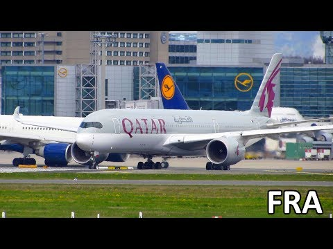 BUSY DEPARTURE ACTION! Planespotting Frankfurt Airport FRA: A380, 747, A350, 777, A340, 767, A330
