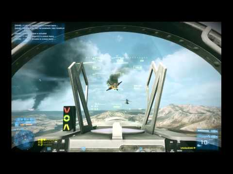 Battlefield 3: IzNoGooD343 in jet @ Operation Firestorm #7