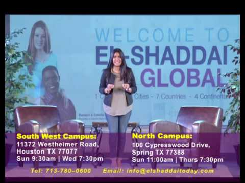 El-Shaddai Houston Church Invitation