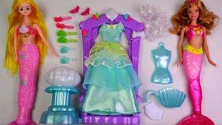 ★인어공주미미 인어바비인형 박스 개봉기★Mermaid Princess Mimi doll/Barbie A Mermaid Tale Doll unboxing