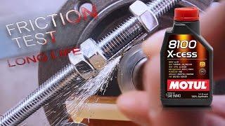 Motul 8100 X-Cess 5W40 Jak skutecznie olej chroni silnik?