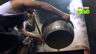 Making of Kozhikodan halwa-Pachamulak 38-3