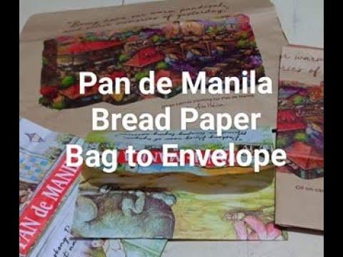 DIY Envelope | Recycled Pan de Manila Paper Bag
