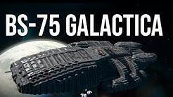 Space Engineers - BS-75 Galactica | Battlestar Galactica