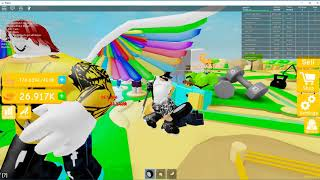 THIS GIRL WANTED ME TO BE HER DAD??!!?? (ROBLOX LIFTING SIMULATOR)