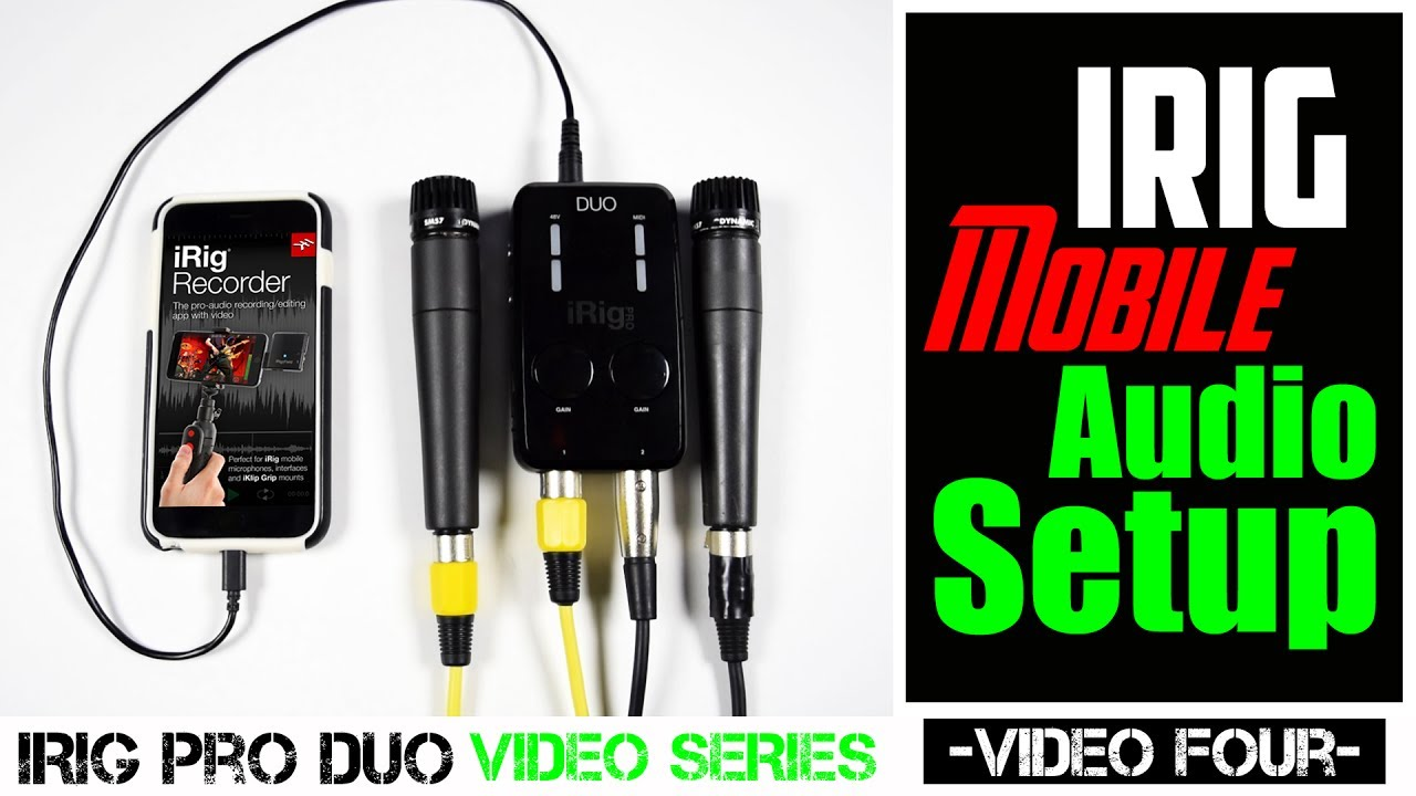 irig mobile audio setup using the irig recorder app youtube rh youtube com Insterment Recorder Manual Voice Recorder Manual