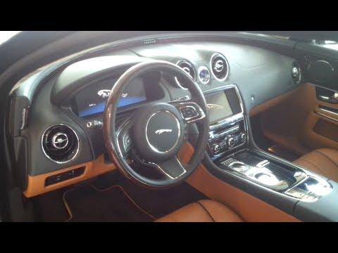 jaguar xj 2013 in depth review interior youtube