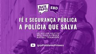 BATE PAPO EBD - Domingo, 16/05, às 9 da manhã