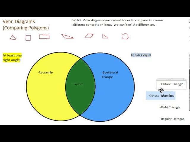 Venn diagrams lessons tes teach venn diagrams how they work and sorting polygons ccuart Images