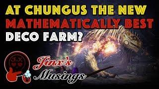 JM: 'The Greatest Jagras' Decoration Farming Math [MHW]
