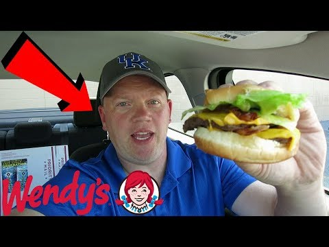 Reed Reviews Wendy's Giant Junior Bacon Cheeseburger