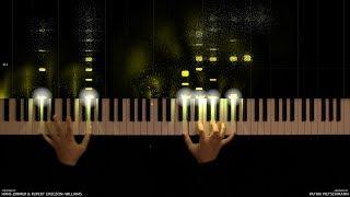 Скачать Wonder Woman Main Theme Piano Version