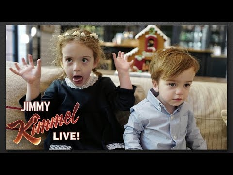 Jimmy Kimmels Kids Wouldnt Sit Still for Christmas Photos