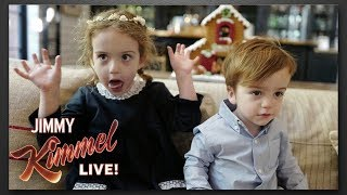 Baixar Jimmy Kimmel's Kids Wouldn't Sit Still for Christmas Photos