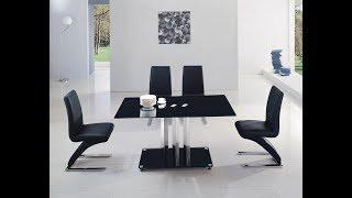 видео Стеклянный стол для кухни