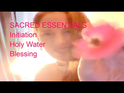 SACRED ESSENTIALS How-To-Create Full Moon Holy Water Intro to Ritual