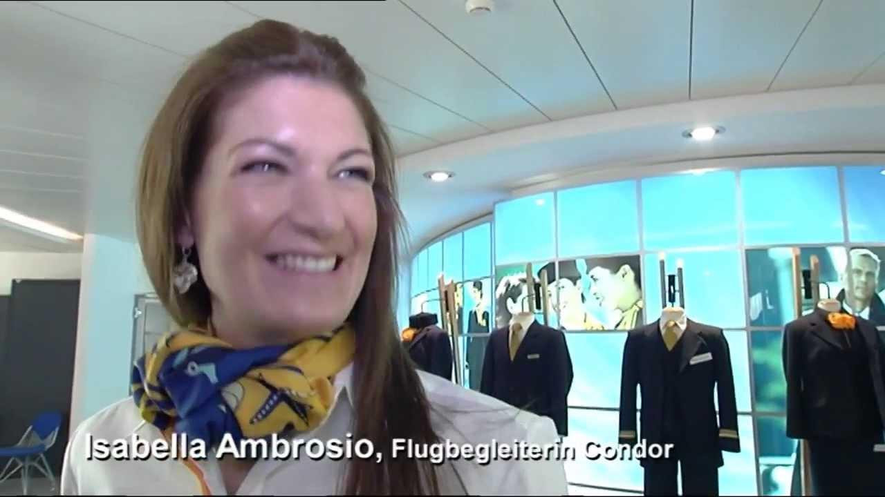 Condortv Flugbegleiterlehrgang Bei Condor Styling Teil 2 Youtube