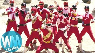 ¡Top 10 Trajes de POWER RANGERS!