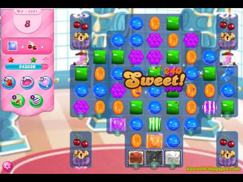 Candy Crush Saga Level 4691 (3 Stars, No Boosters)
