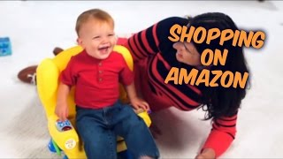 Shopping on Amazon-Fisher-Price Laugh & Learn Smart Stages Chair