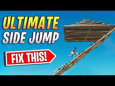 ULTIMATE Side/Cone Jump Tutorial - HOW to MASTER all SIDE JUMPS in FORTNITE! (Beginner to Advanced)