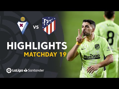 Eibar Atletico Madrid Goals And Highlights