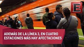 Breves Metropolitanas: Se hunde el Metro de la Ciudad de México
