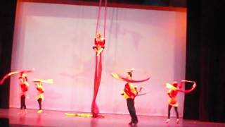 Acts In Motion - Fly Dance, Aerial, and Banner Performance