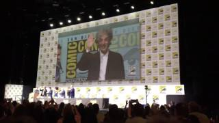 Doctor Who - Peter Capaldi Gets A Standing Ovation At Comic-Con