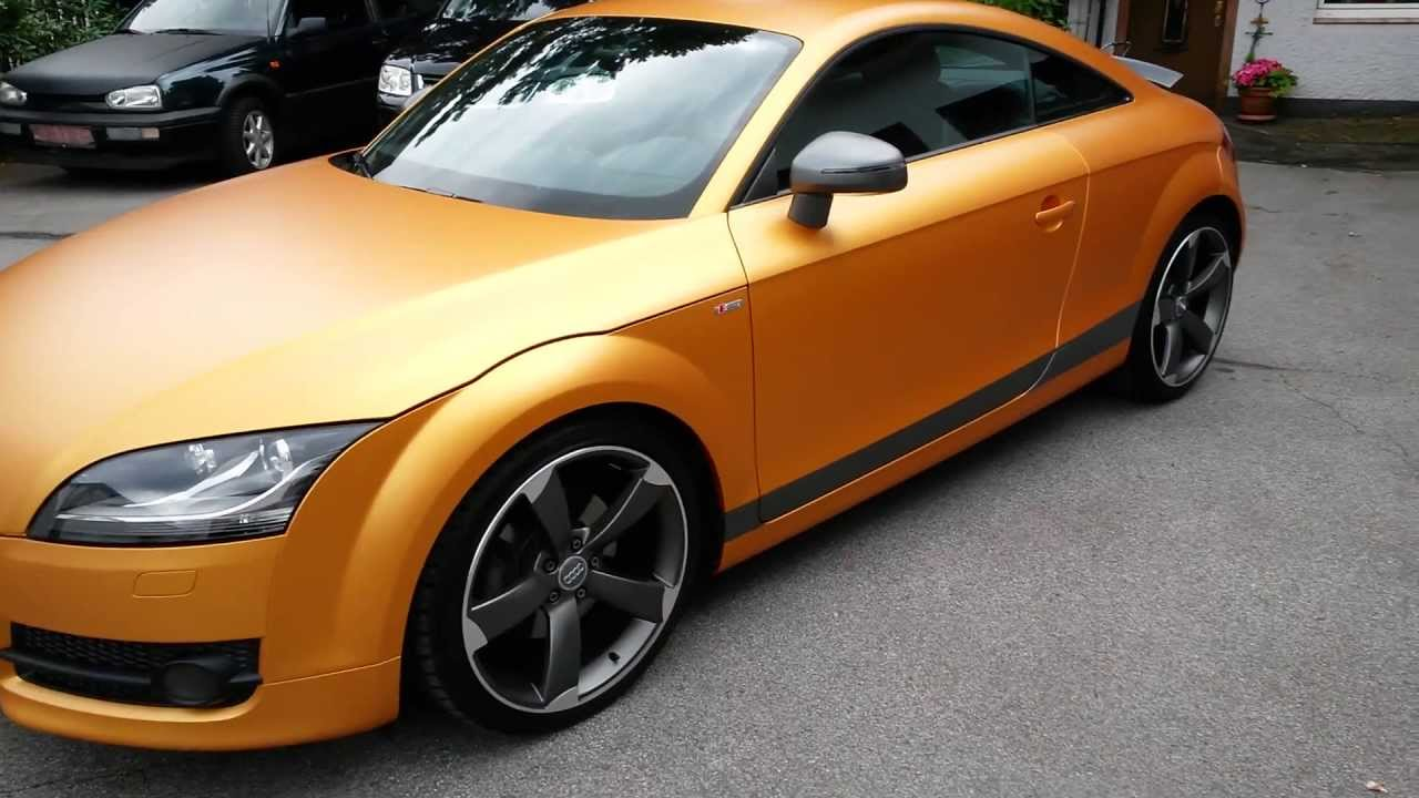 Gold In Green Car Paint