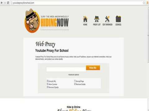 Youtube Proxy For School - Open Youtube in School Proxy