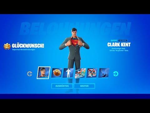 SUPERMAN ERHALTEN 🦸♂️ Aufträge für Clark Kent, Gepanzerter Batman oder Beast Boy ab | Fortnite