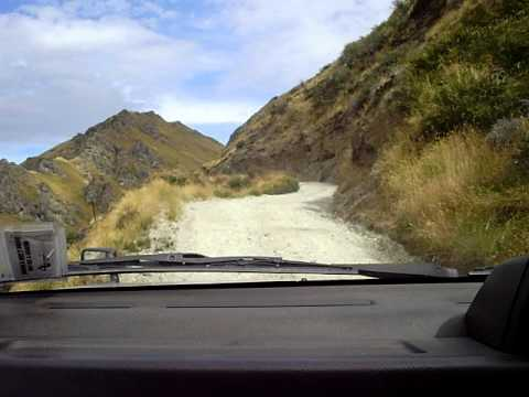 Skippers Canyon Scenic Road Drive; New Zealand